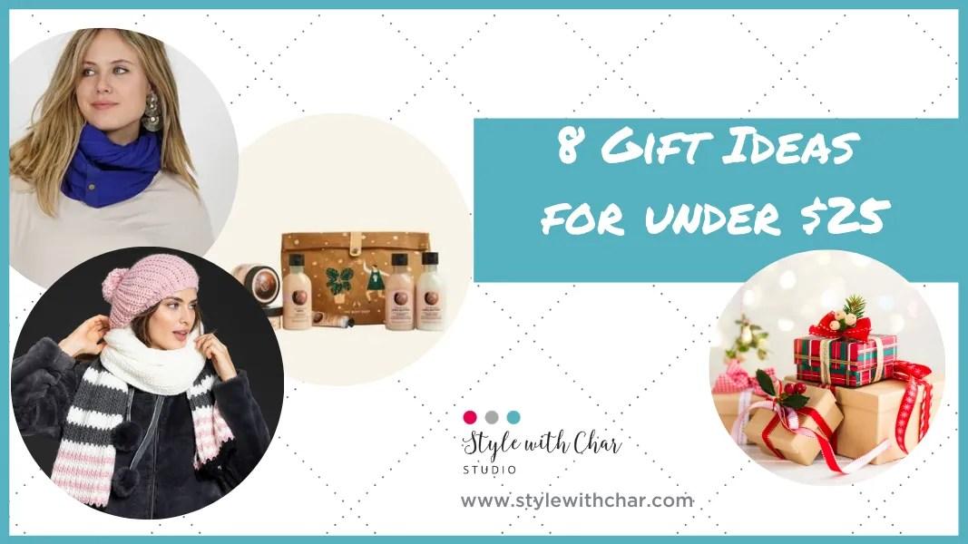 8 Gift Ideas Under $25
