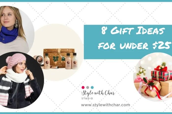 Eight Gift Ideas Under $25
