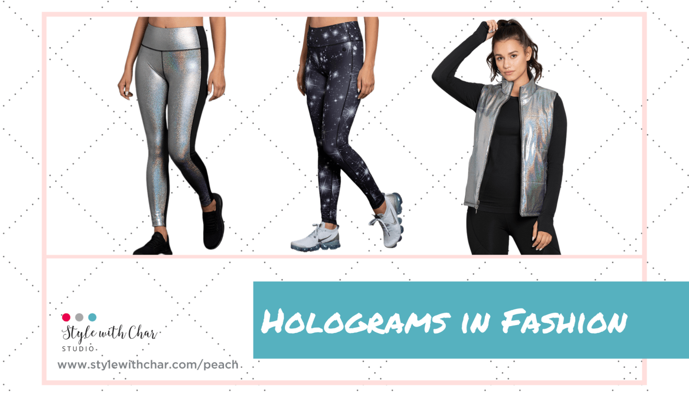 Pictures of holograms in fashion