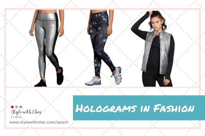 Peach Debuts Holograms in Fashion
