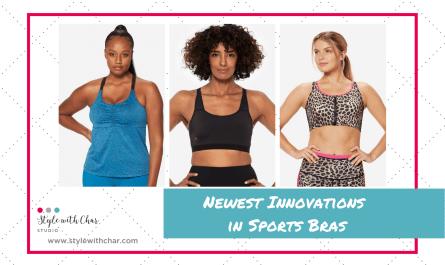 Newest Innovations in Sports Bras blog header