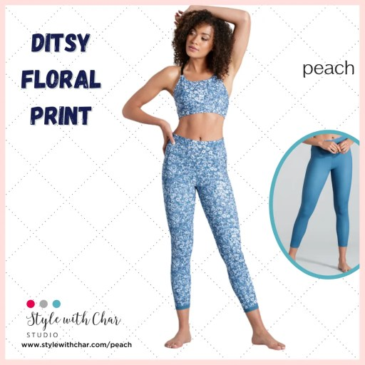 Ditsy Floral Print New Arrivals from Peach