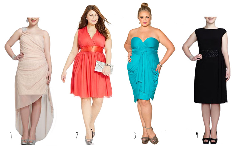 Heading to a Party? Check out these cute plus size dresses ...