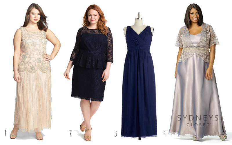 Plus Size Mother Of The Bride Dresses (for Mothers Of The