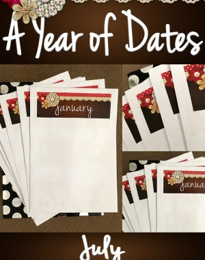 A Year of Dates (In A Box) July