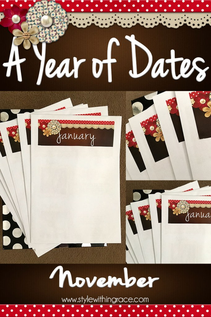 A Year of Dates (In A Box) November