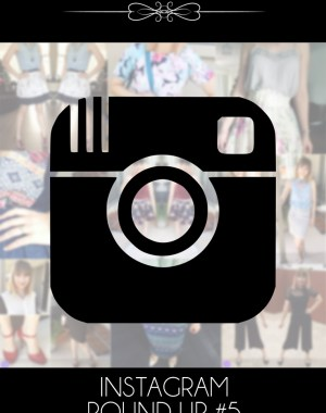 Instagram Round Up #5 (Darecember 2016 Outfit Ideas)