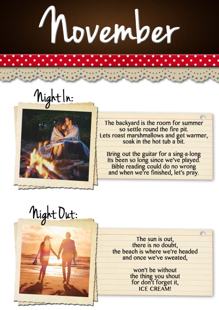 November Date Ideas