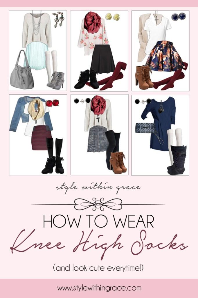 How to Wear Knee High Socks