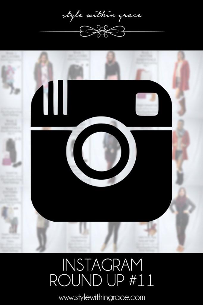 Instagram Round Up #11 (June Winter Layering)