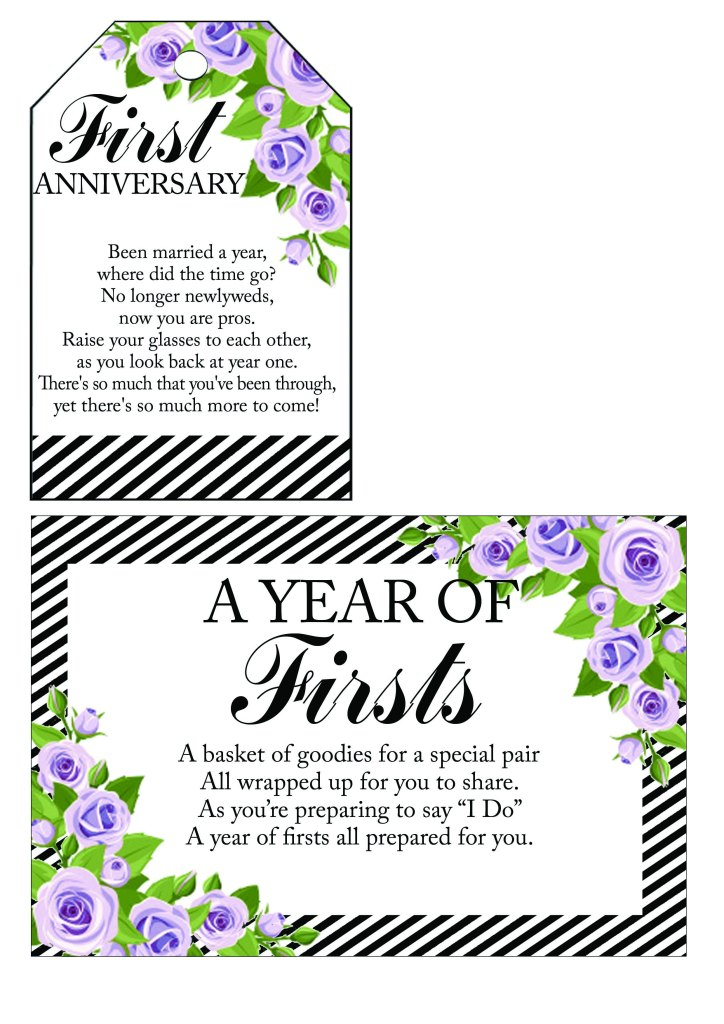 Year of Firsts Tags 2