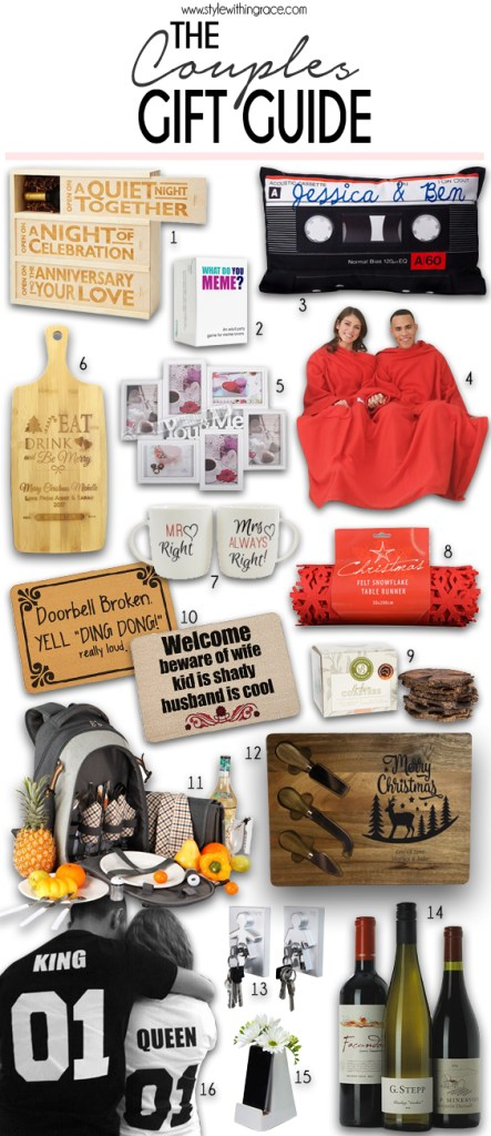 The Couples Gift Guide