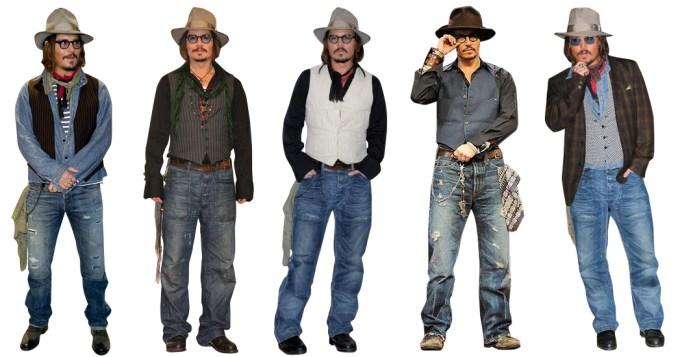 Johnny Depp Style Uniform