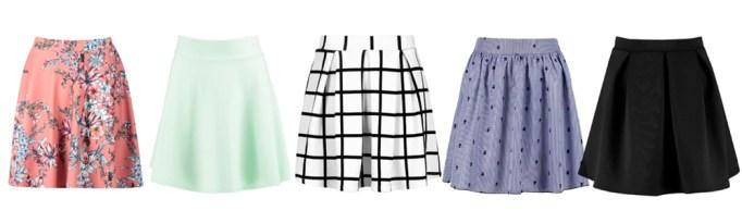 Summer Wardrobe Essentials - Skater Skirts