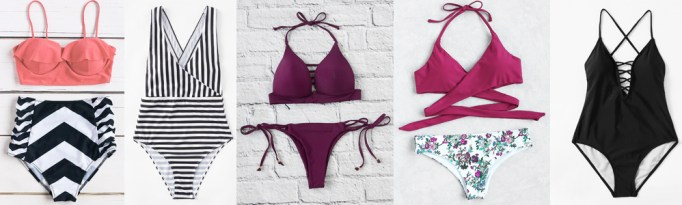 Summer Wardrobe Essentials - Swimsuits