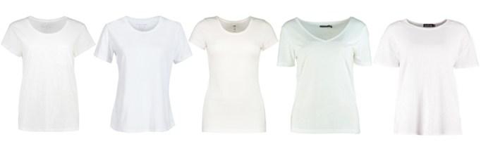 Summer Wardrobe Essentials - White TShirt