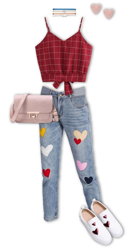 Valentine's Day Outfits - Dinner and a Movie Casual Date Night