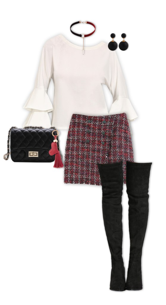 Valentine's Day Outfits - The Comedy Club Date Night Out
