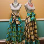 ankara styles african print skirt high 2016