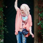 Modern Hijab Fashion In 2016 style