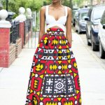 ankara maxi skirts fashion style 2016