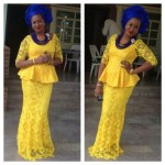 2016 _ 2017 latest french lace asoebi
