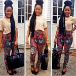 African Print Pants for ladies 2017