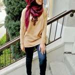 Casual Look With Hijab 2017