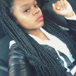 big box braids hairstyle for women 2017