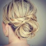 cool updo hairstyles for thin hair 2017