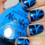 BLUE NAIL ART DESIGNS 2016 2017