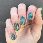 negative space nail art designs 2017