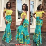 Latest kitenge maxi dress styles 2017