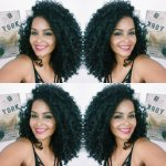 Curly Hair Style for womens in mode