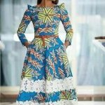 kitenge dress with lace fashions 2017