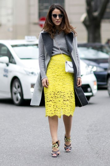 Street style-Millan fashion week