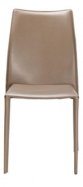 chaise classique marron doré