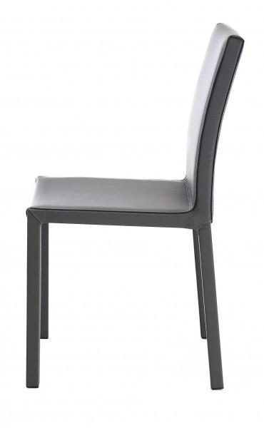 chaise moderne couleurs classique grise