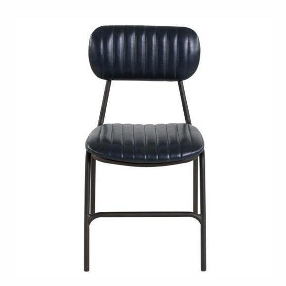 chaise vintage année 50 matelassé