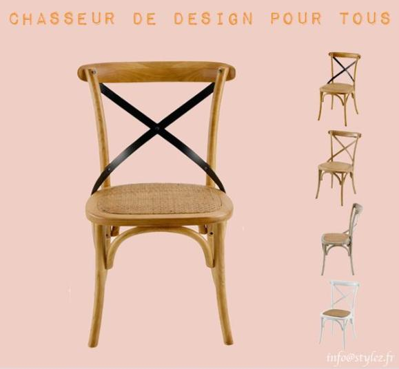 chaise calenure et orme