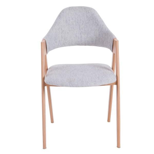 chaise confortable tendance assise tissu