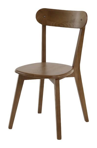 chaise vintage bistrot bois mmarron