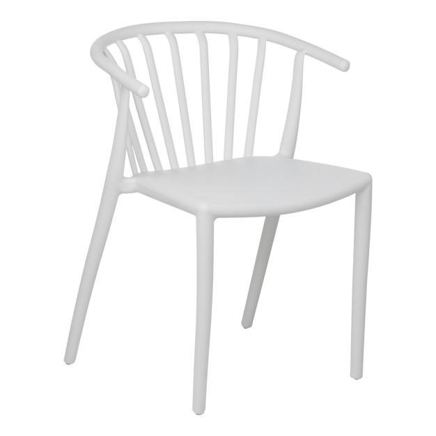 chaise lumineuse blanche design