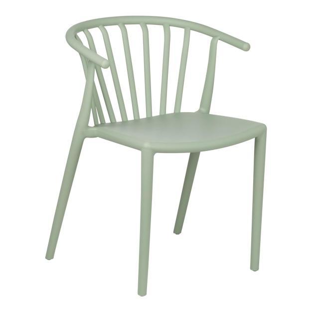 chaise bleu clair design