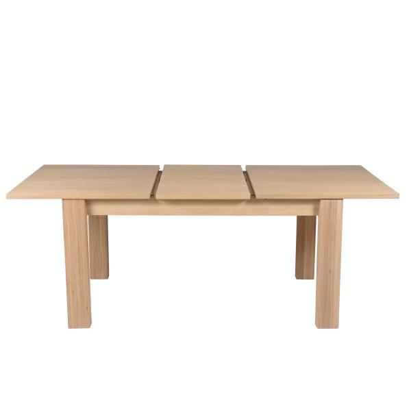 table stylée en chêne plaqué