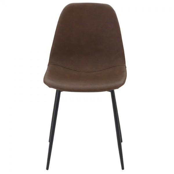 chaise assise marron zara