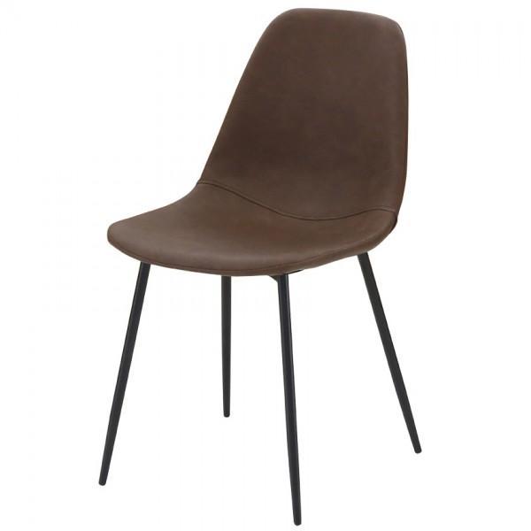 chaise marron avec assise