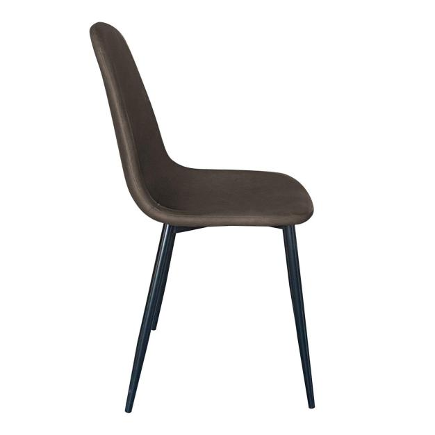 chaise assise confortable moderne grise