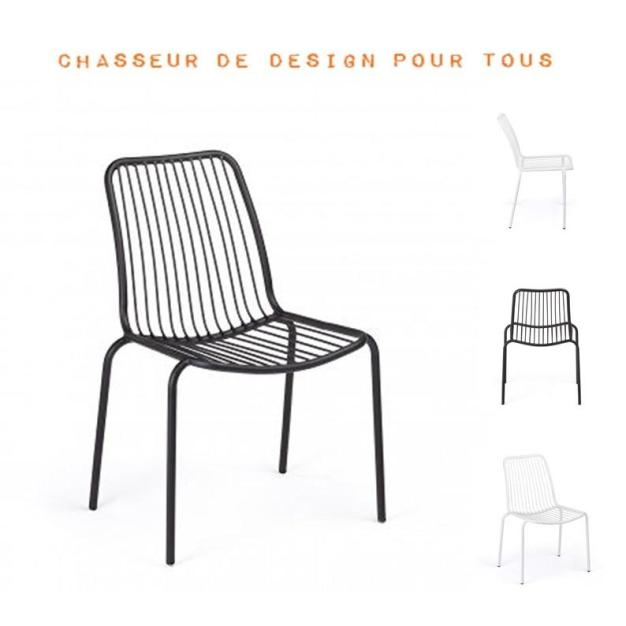 Chaise jardin anti-oxydable
