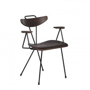 chaise bois métal